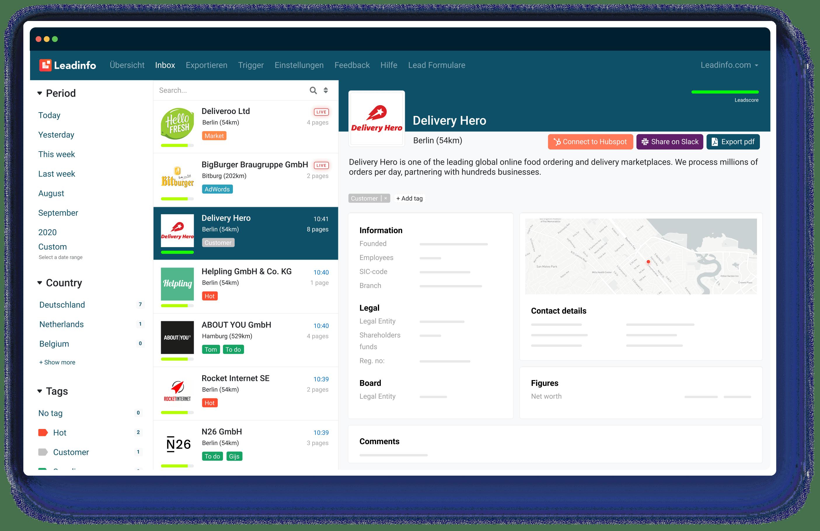 Leadinfo-Portal-DE
