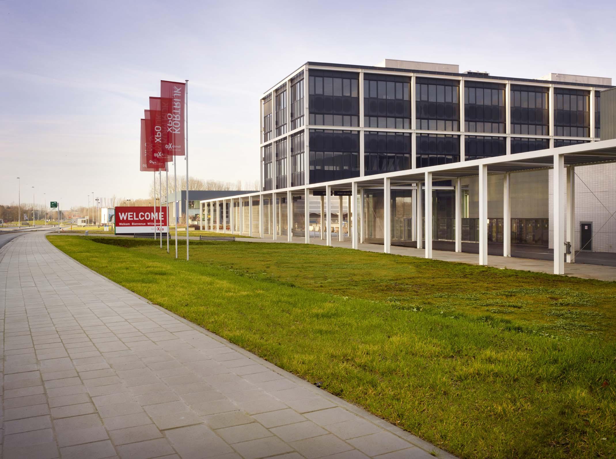 Krotrijk Xpo building in Belgium
