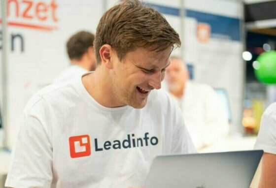 Pascal, a Leadinfo employee looking happy